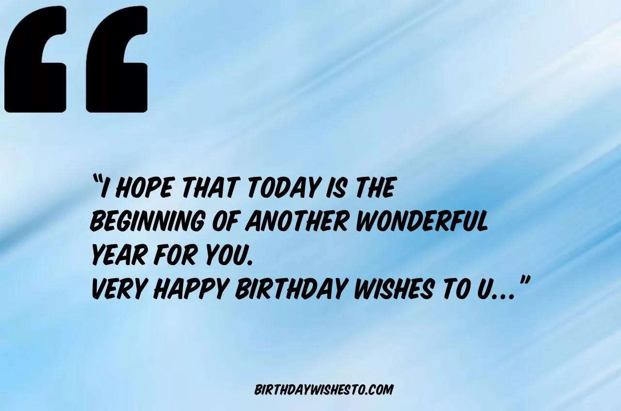 Birthday Wishes WhatsApp Message