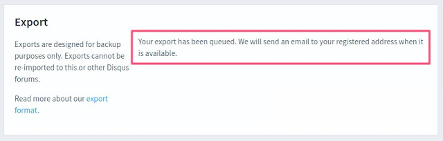 Eksport komentarzy w Disqus do pliku xml