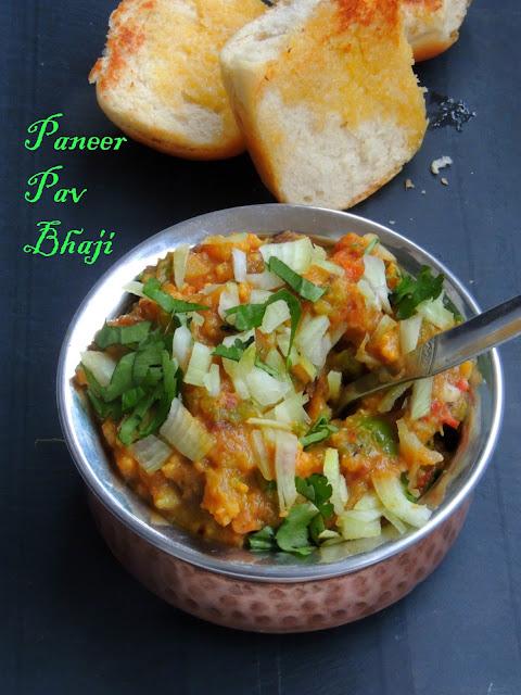 Paneer Pav Bhaji,