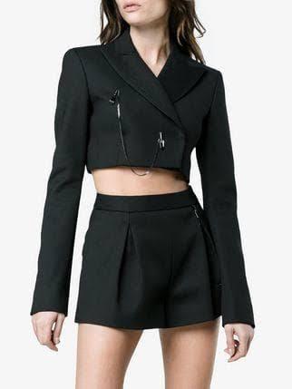 Trend: Crop Blazer
