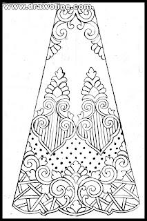 sketches of indian traditional lehenga images free download, fashion designer sketch of saree lehenga design