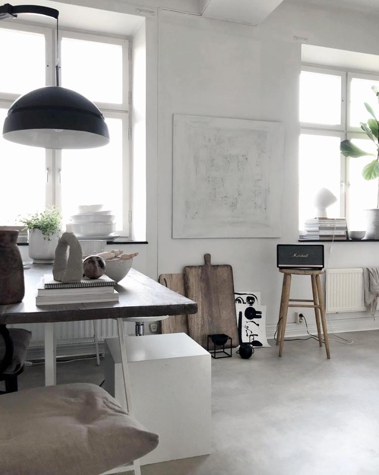 Una casa de estilo nórdico con muchas ideas de decoración