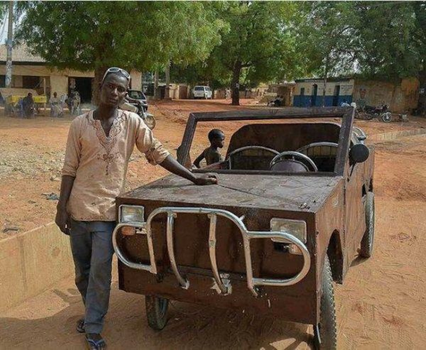 nigerian student build car kebbi state