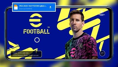 تحميل لعبة PES 2022 APK للاندرويد مجانا معدلة برابط مباشر من ميديا فاير