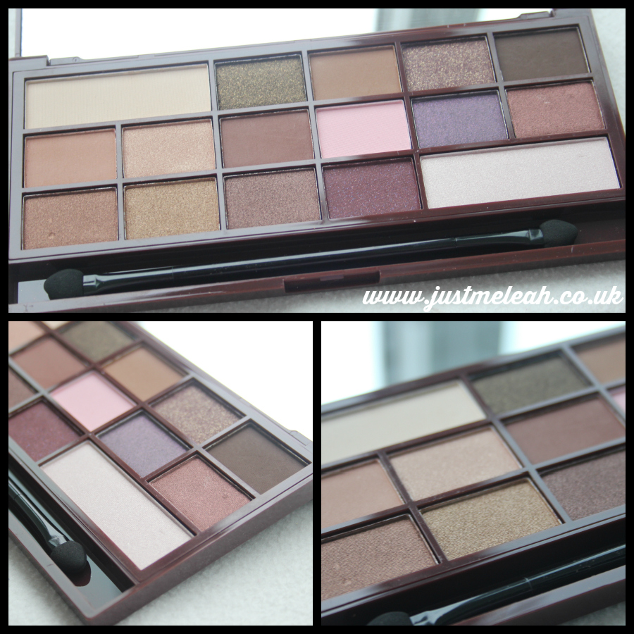 I Heart Makeup I Heart Chocolate palette by Makeup Revolution.