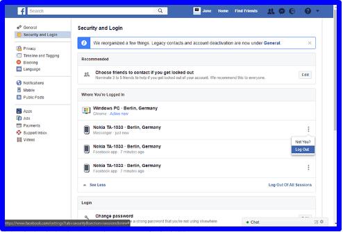 Can You Logout of Facebook Messenger
