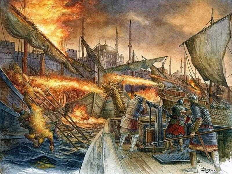Misteri Api Yunani