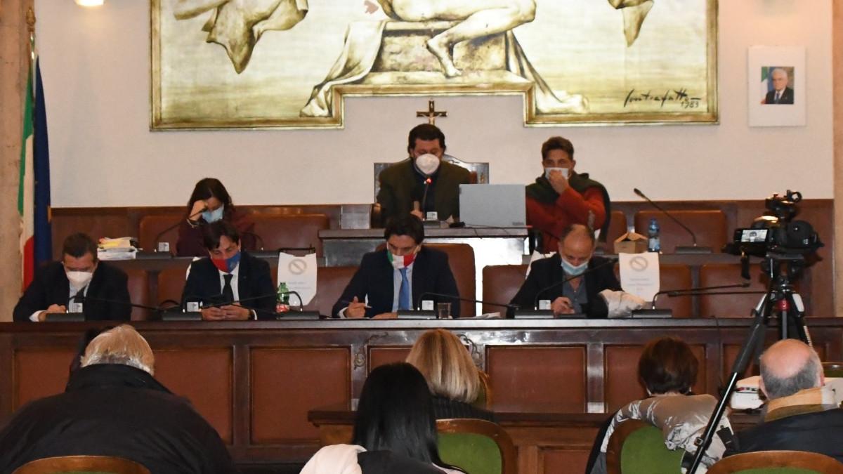 Seduta straordinaria del Consiglio Comunale di Catania per emergenza Covid