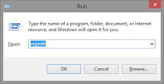 menghilangkan tanda shortcut di desktop