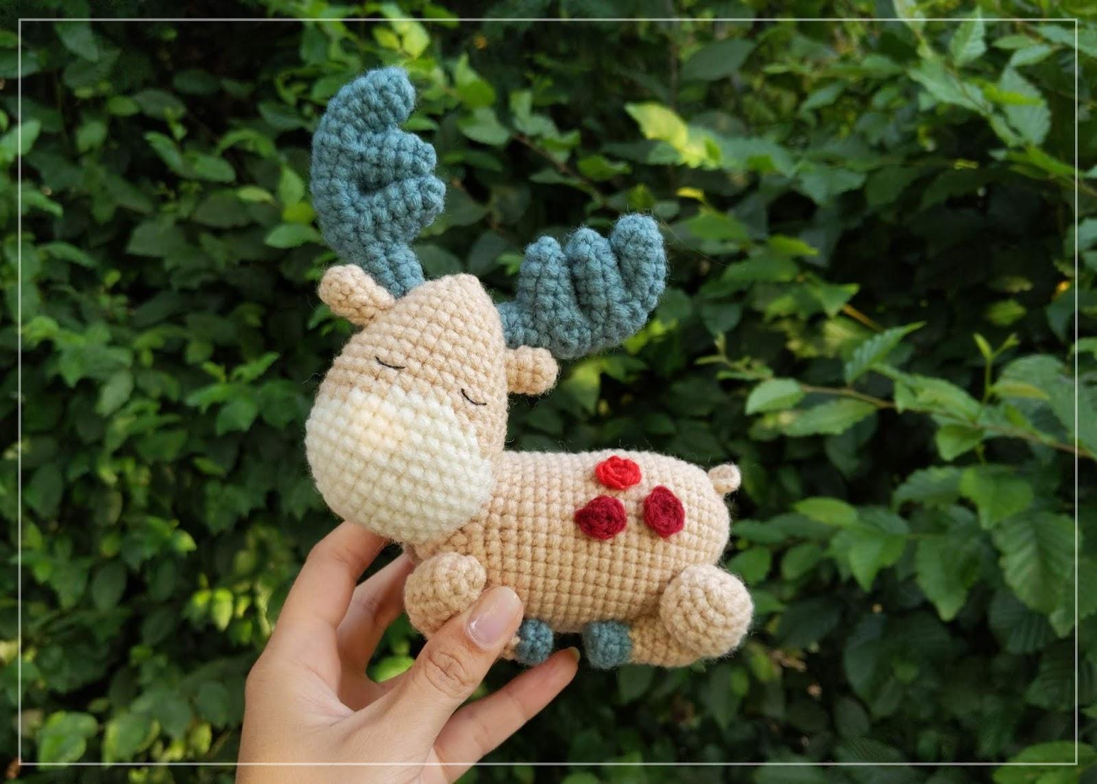 Elephant Amigurumi - Free Crochet Pattern • Craft Passion | 1143x1600