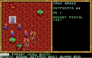 Pantallazo Buck Rogers Countdown to Doomsday - PC