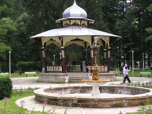 Минеральные воды курорта Слэник Молдова: Из 24 источников лечебных минеральных вод, утвержденных в 1980 г., в настоящее время в эксплуатации находятся 11 источников.