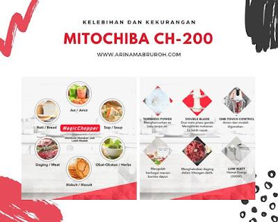 Kelebihan dan kekurangan chopper mitochiba ch-200