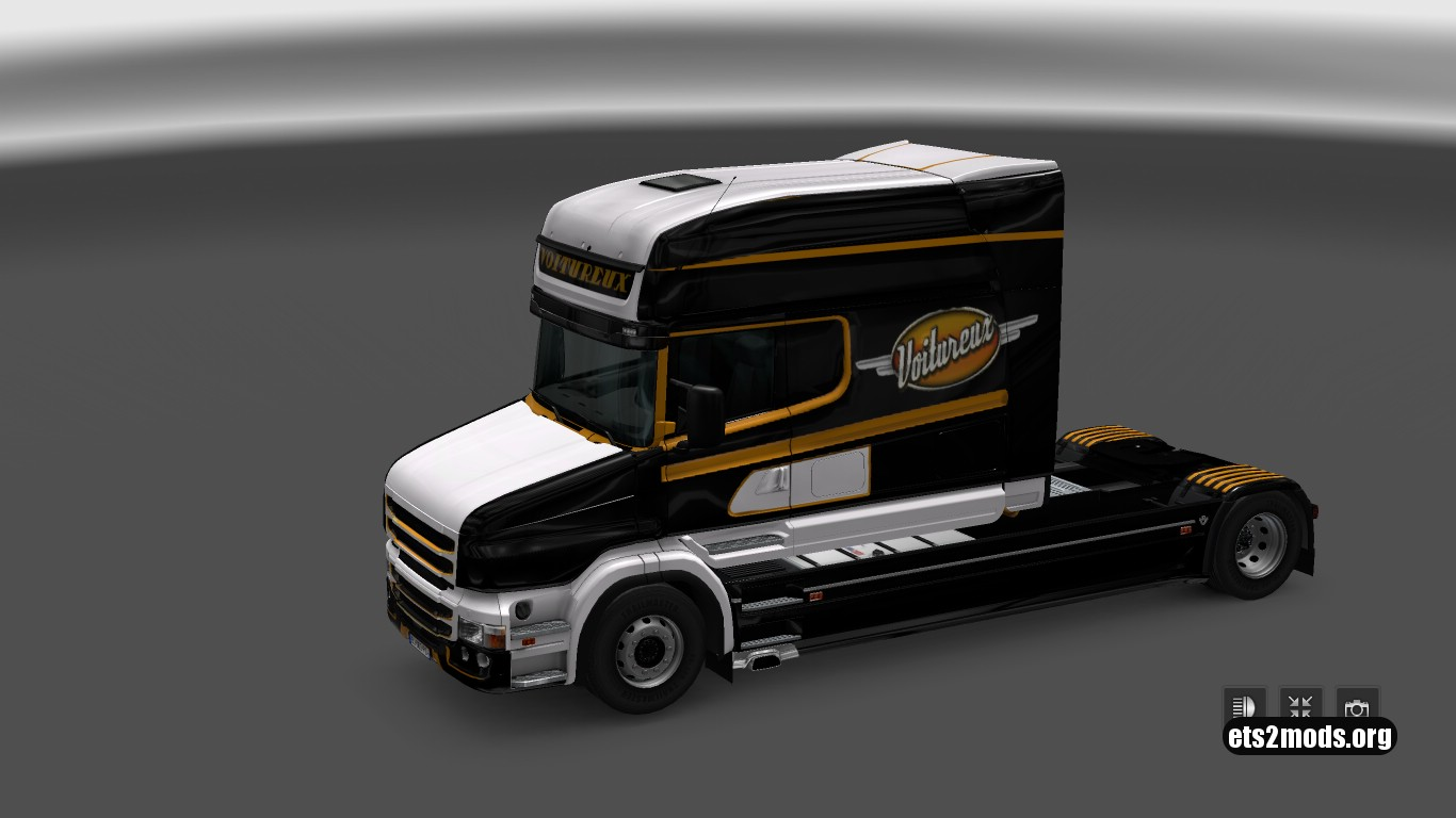 Voitureux Company Skin for Scania T