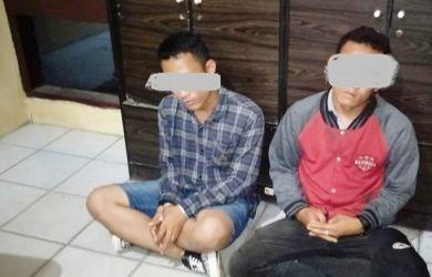Mengaku Dibayar Rp50 Ribu, Pelaku Pemasang Spanduk Penolakan Kedatangan Habib Rizieq Ditangkap