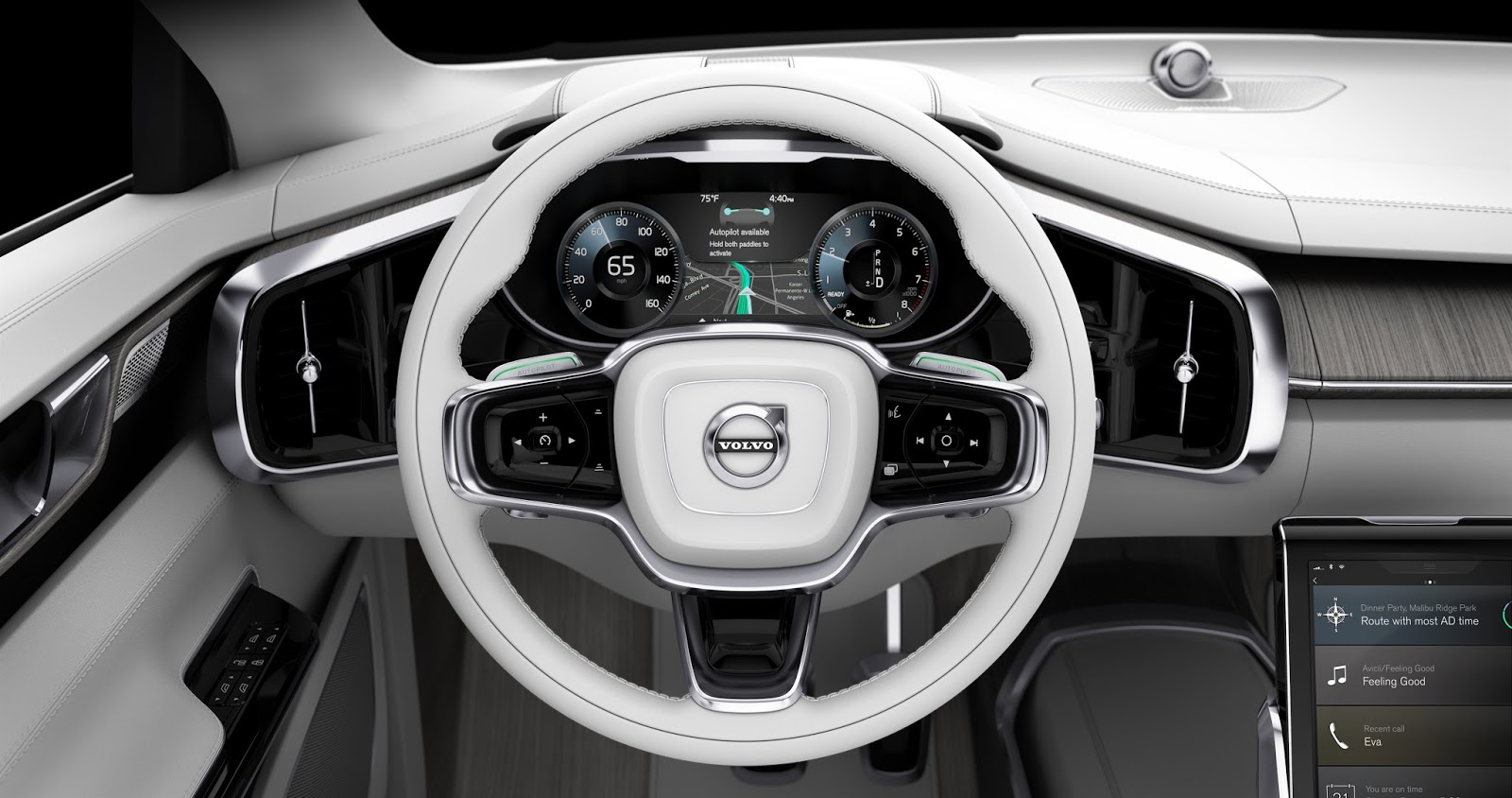 169540 Concept 26 Η Volvo θα κάνει και την αυτόνομη οδήγηση διασκεδαστική Autonomous Driving, Volvo, Volvo XC90, Αυτόνομη οδήγηση