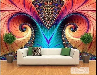 3D wallpaper for living room walls 3D wall murals 2019