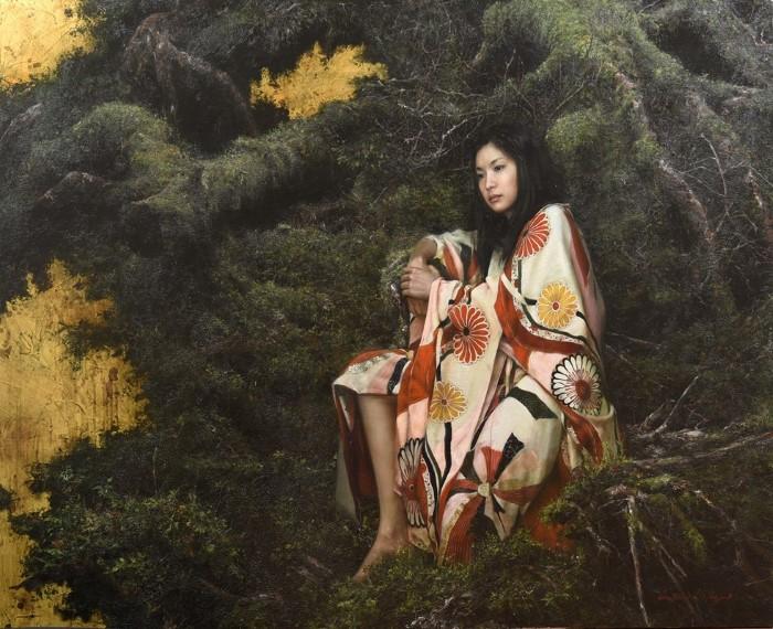 Японский художник. Katsu Nakajima