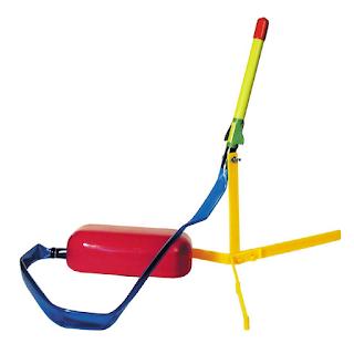 Un lance fusée à air comprimé pour les enfants