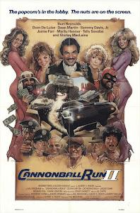 Cannonball Run II Poster