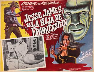Ver película Jesse James contra la hija de Frankenstein Online