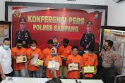 7 Pelaku Terdiri Dari Pengedar Hingga Pemakai Sabu Diringkus Polres Sampang