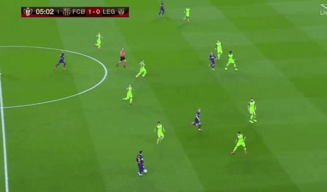تشكيلة نادي برشلونة المتوقعة ضد ليغانيس