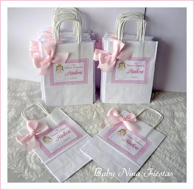 bolsas personalizadas comunión niña
