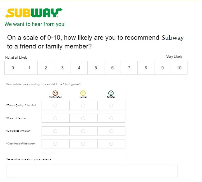 www.subway.com survey