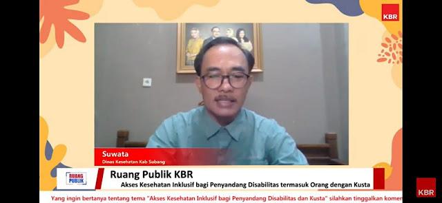 Pak suwata dinas kesehatan kabupaten subang