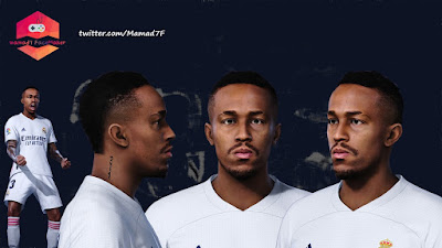 PES 2021 Faces Eder Militao by Mamad7