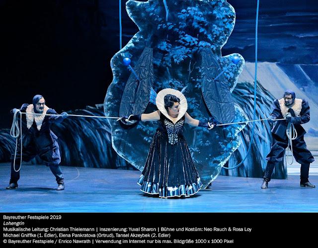 Wagner: Lohengrin - Elena Pankratova - Bayreuth Festival 2019 (Photo Enrico Nawrath)