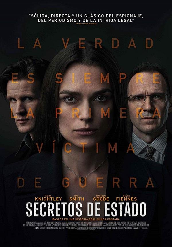 Official Secrets 2019 [1080p WEB-DL] [Subtitulado]