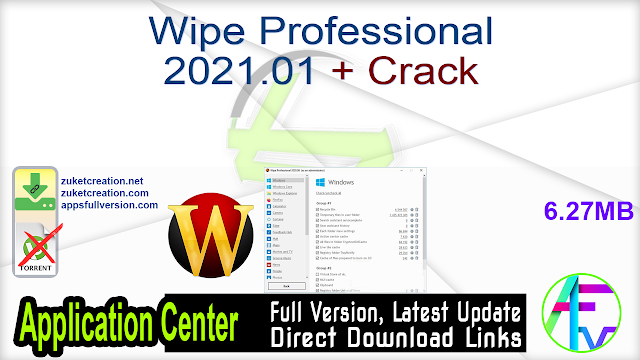 Wipe Professional 2021.01 + Crack