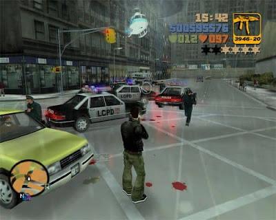 لعبة Grand Theft Auto 3 على الحاسوب ويندوز