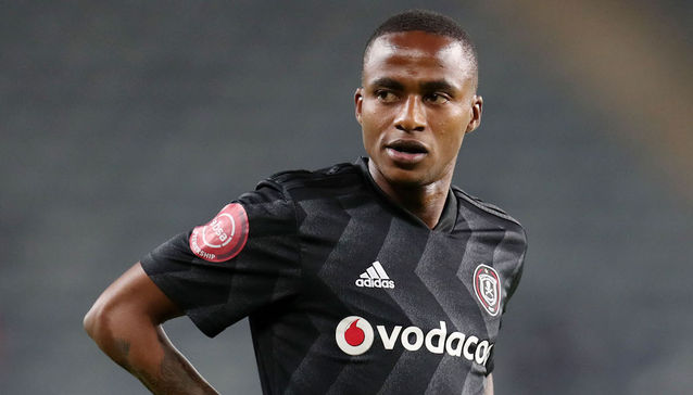 Orlando Pirates will be without the suspended Thembinkosi Lorch