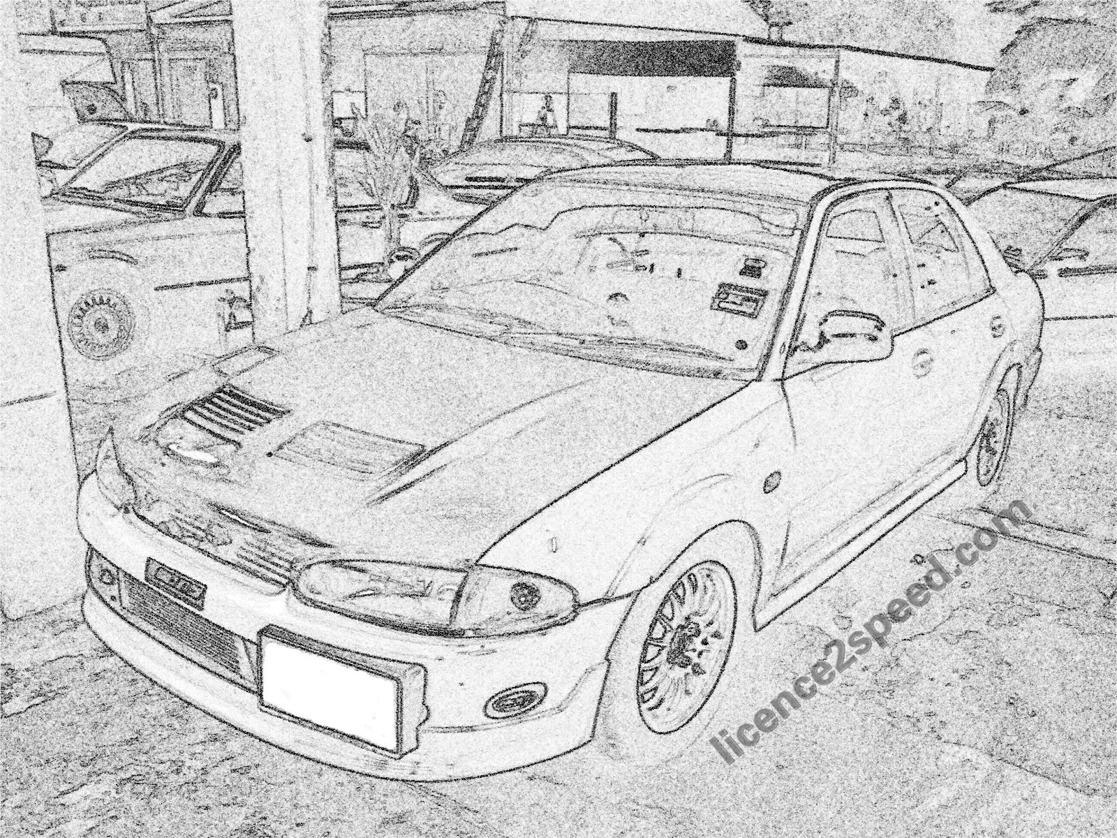 Licence To Speed For Malaysian Automotive My Project Car Budget Mitsubishi 2 4 Engine Wiring Harness 4g92 Proton Wira 16 Bolt On Turbo