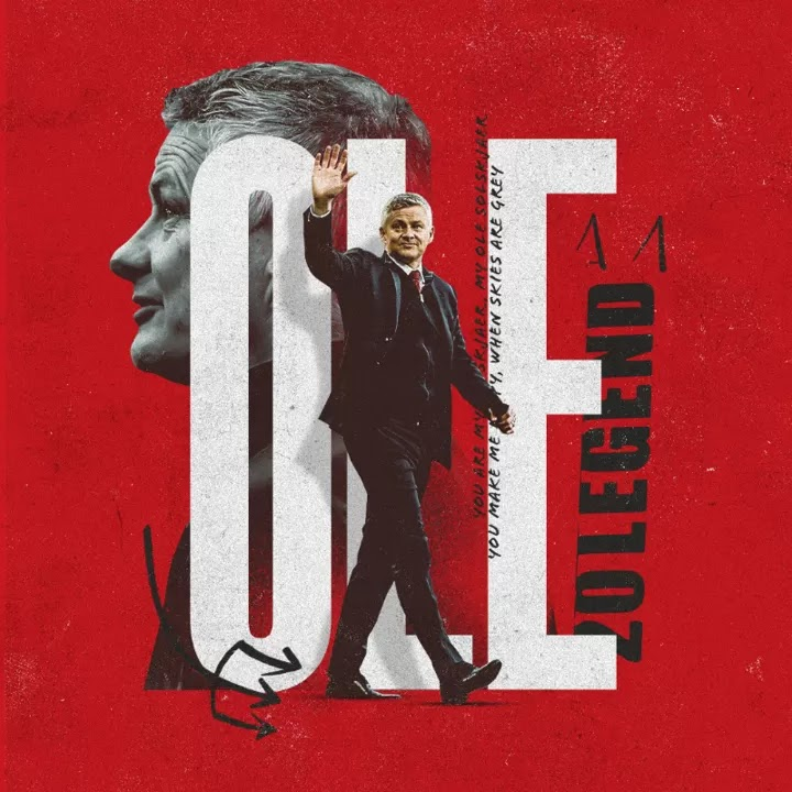 OFFICIAL: Solskjaer signs a new contract with Manchester United until 2024