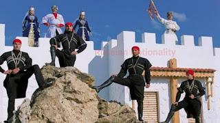 Circassian aul in Fadeevo - Russia