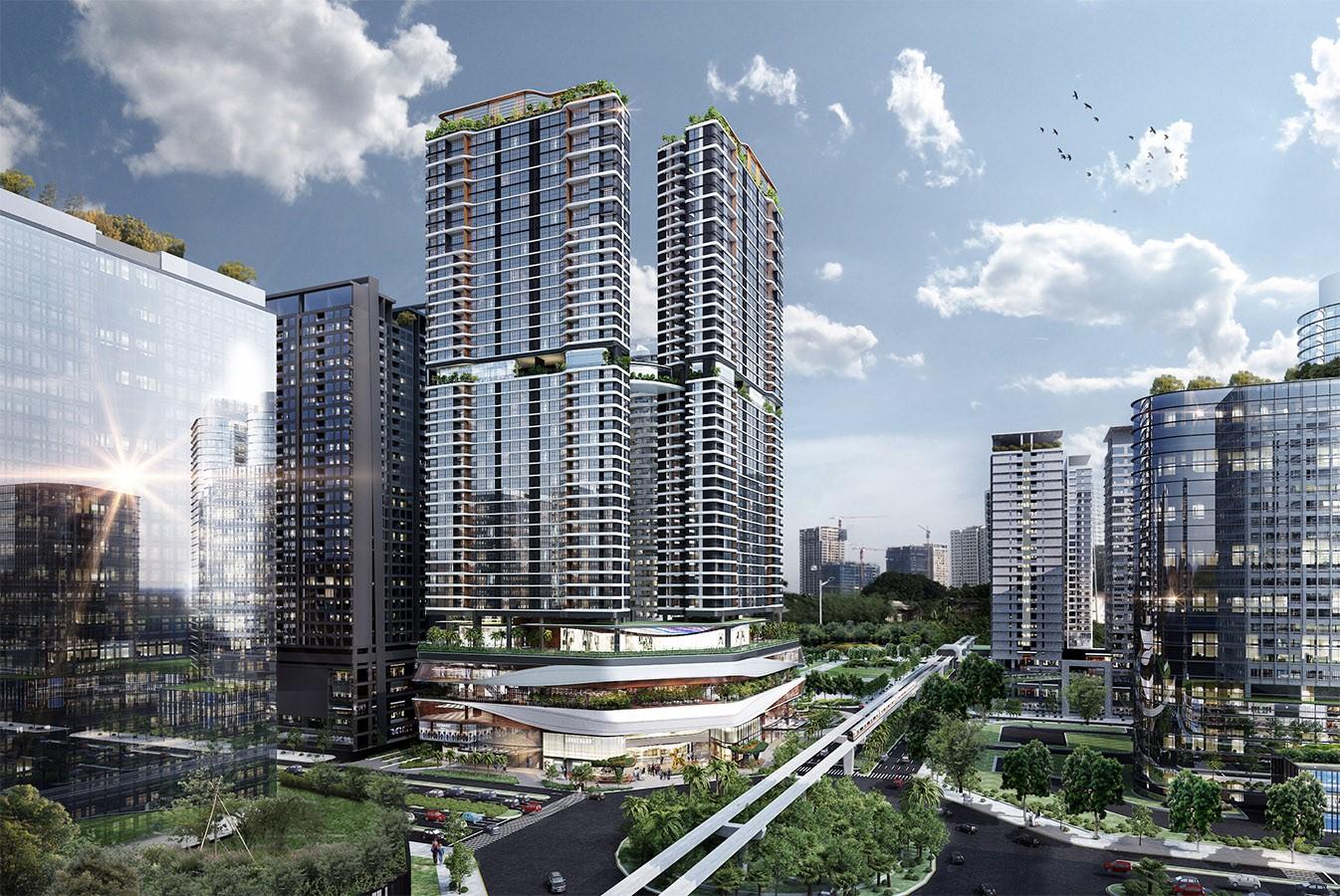 Vị trí phong thủy của tòa nhà chung cư Han Jardin Ngoại Giao Đoàn