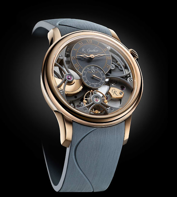 Romain Gauthier Insight Micro-Rotor Squelette Red Gold