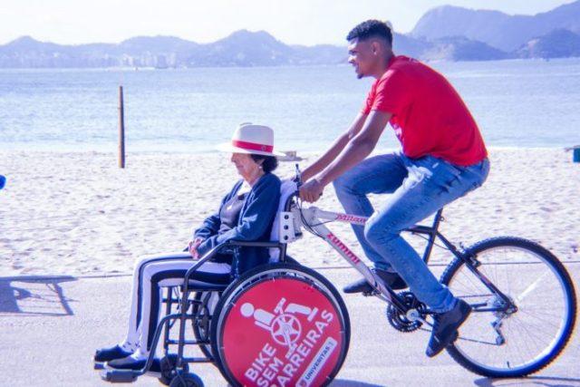 Bairro do flamengo ganha bicicletas voltadas a pessoas com mobilidade reduzida