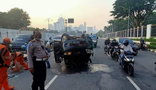 Waduhh,..Tercatat korban lakalantas naik 40 persen di Jakarta