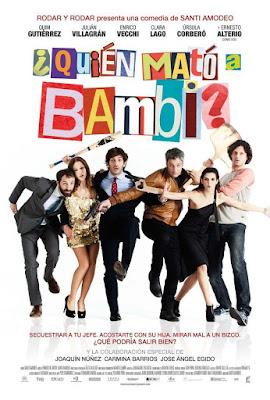 ¿Quién Mató A Bambi? 2013 DVD R2 PAL Spanish
