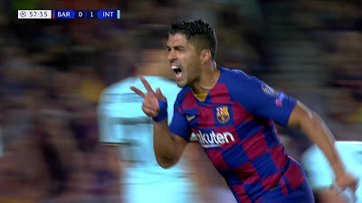 UCL-Group-F-2 Barcelona 2 vs 1 Inter 02-10-2019