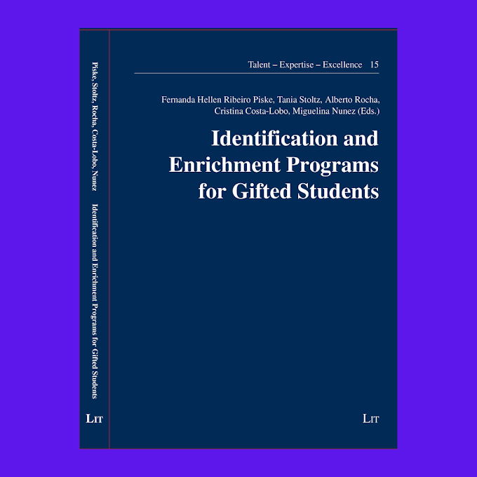 Livro: Identification and Enrichment Programs for Gifted Students