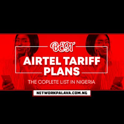 airtel tariff plans in nigeria
