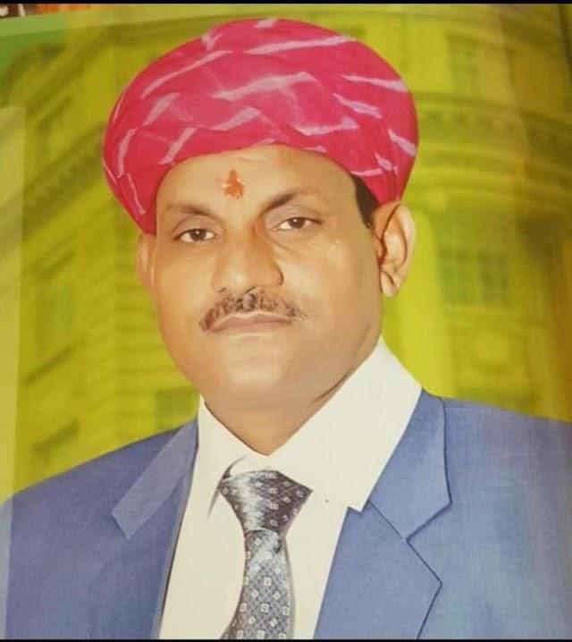दांता में भामाशाह रामगोपाल बासनीवाल ने बांटे 101 राशन सामग्री के किट