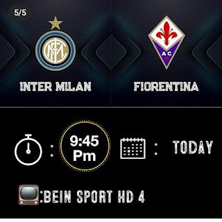 مشاهدة مباراة فيورنتينا وانتر ميلان الدوري الايطالي