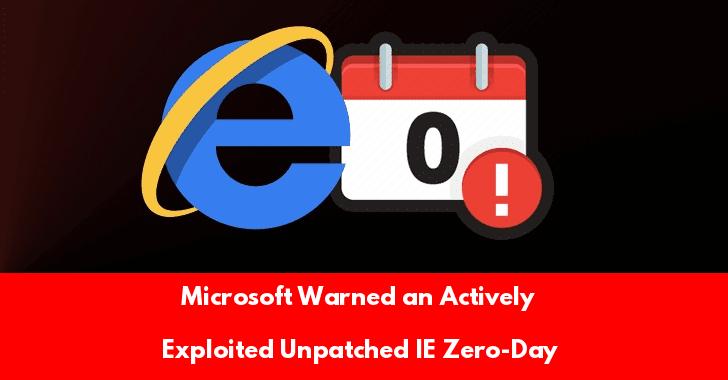 IE Zero-Day